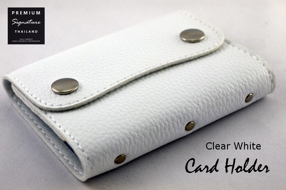 Clear White(ขาว) - Card Holder