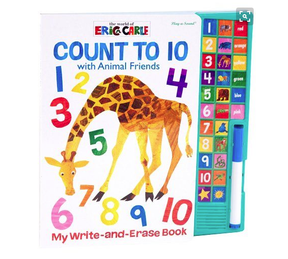 Eric Carle Count to 10 with Animal Friends