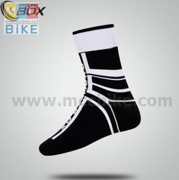 ถุงเท้าจักรยาน ถุงเท้าปั่นจักรยาน แบบยาว CYCLING BOX L4