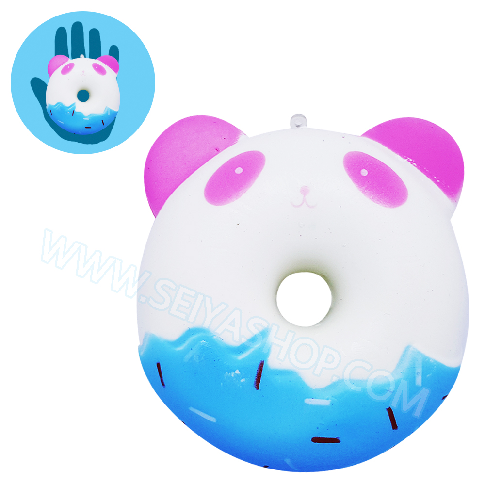 CB411 สกุชชี่ Animal Donut (Super Soft) ขนาด 10 cm