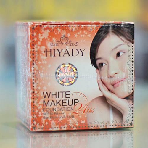ไฮยาดี้ ไวท์ เมคอัพ ฟาวน์เดชั่น Hiyady White Makeup Foundation