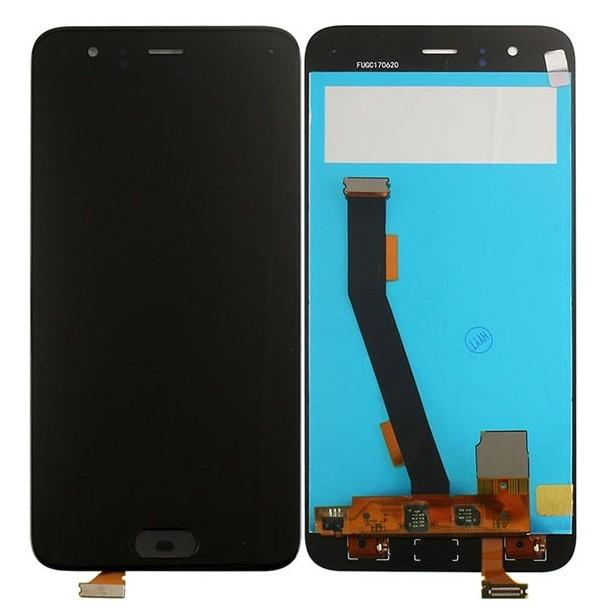 ราคาหน้าจอชุด+ทัสกรีน Xiaomi Mi6 อะไหล่เปลี่ยนหน้าจอแตก ซ่อมจอเสีย สีดำ