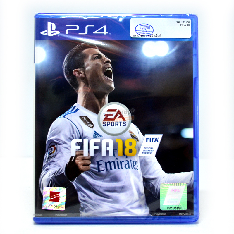PS4™ FIFA 18 Zone 3 Asia / English ราคา 1590.-