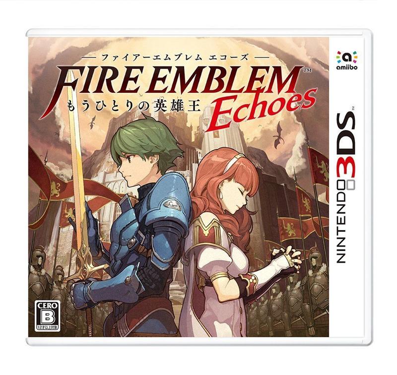 3DS™ Fire Emblem Echoes: Shadows of Valentia Zone JP, Japanese ราคา 1590.-