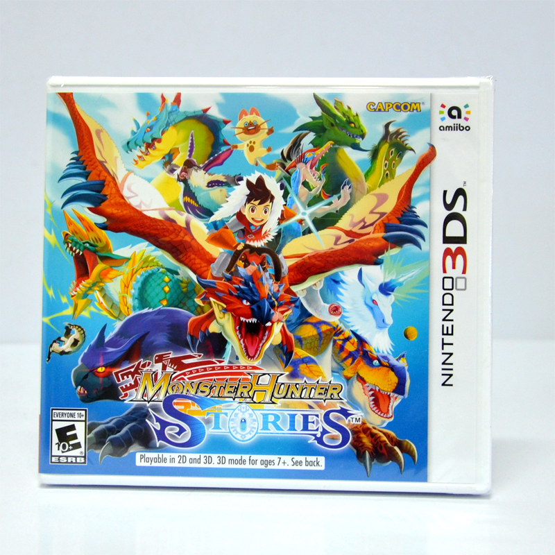 3DS™ Monster Hunter Stories Zone US, English