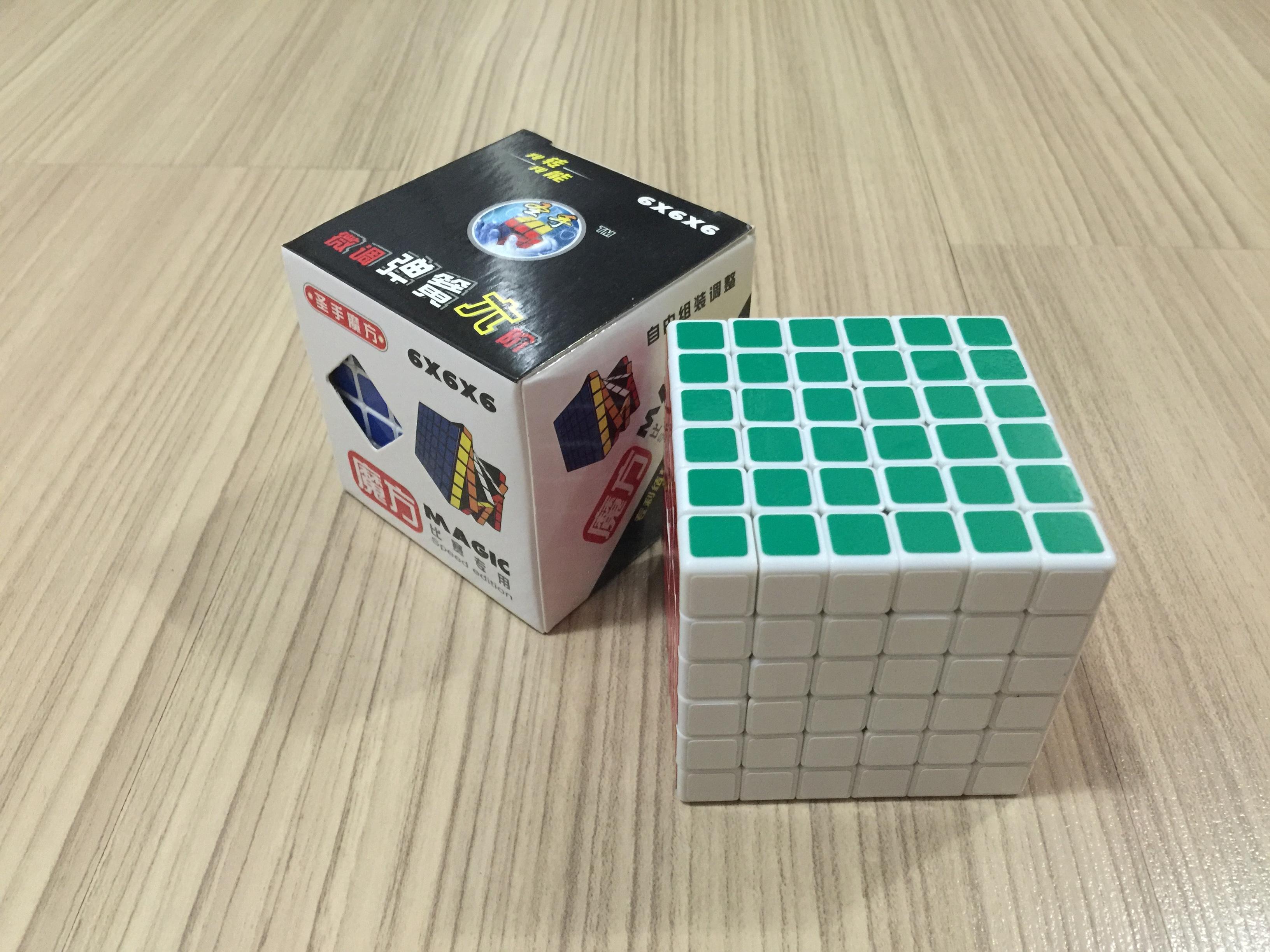 ShengShou 6x6x6 White