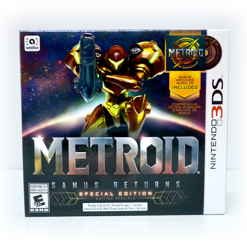 3DS™ Metroid: Samus Returns (Special Edition) Zone US, English