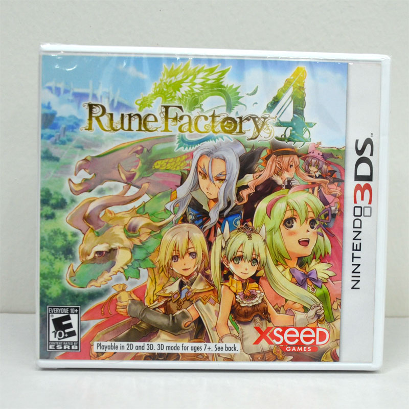 3DS (US) Rune Factory 4
