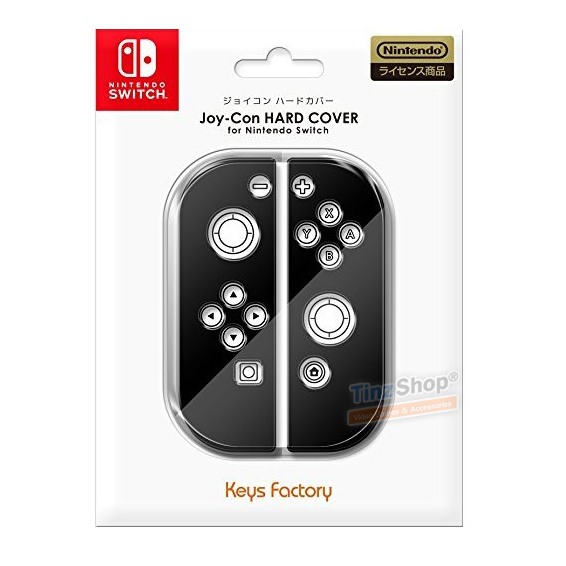เคสพลาสติกแข็งสำหรับ Joy-Con ยี่ห้อ Keys Factory™ จากญี่ปุ่น สีดำ [NJH-001-1 Black] ราคา 390.-