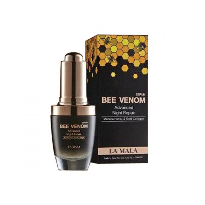 เซรั่มพิษผึ้ง ลา มาล่า La Mala Serum Bee Benom Advanced Night Repair