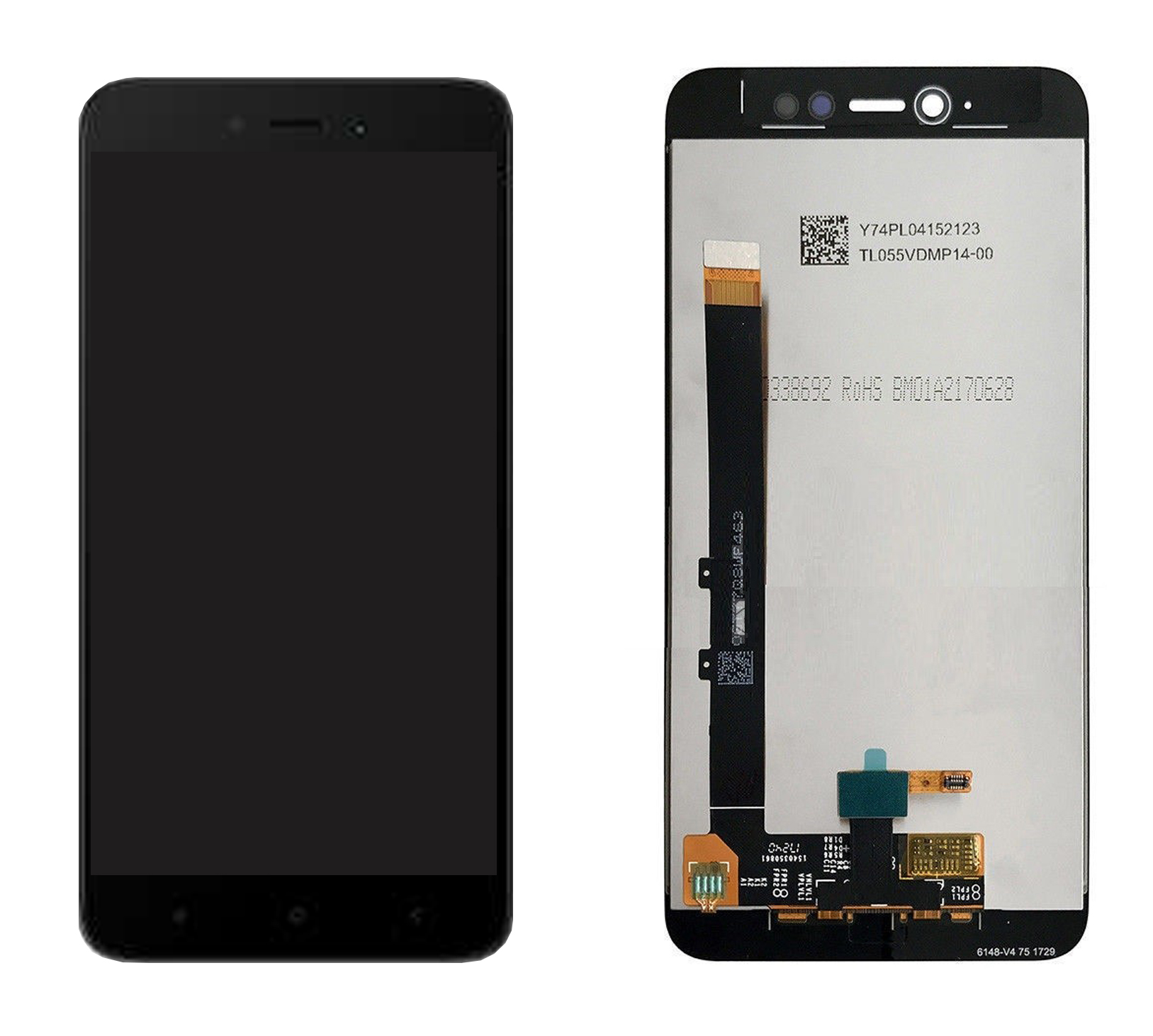 ราคาหน้าจอชุด+ทัสกรีน Xiaomi Redmi 5A อะไหล่เปลี่ยนหน้าจอแตก ซ่อมจอเสีย สีดำ