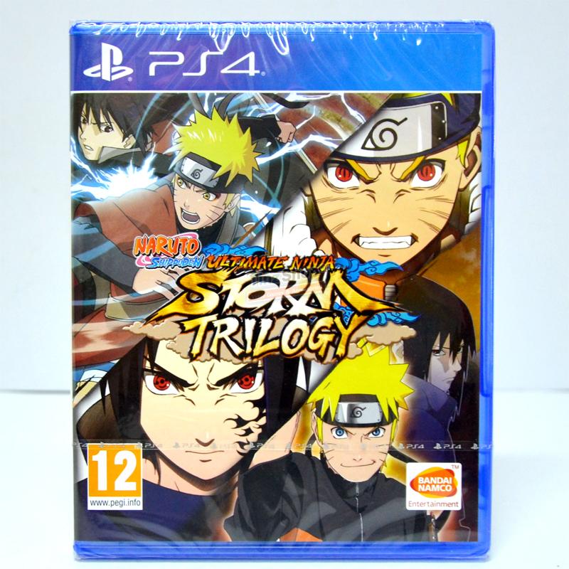 PS4™ Naruto Shippuden: Ultimate Ninja Storm Trilogy Zone 2 EU / English ราคา 1790.- *ส่งฟรี*