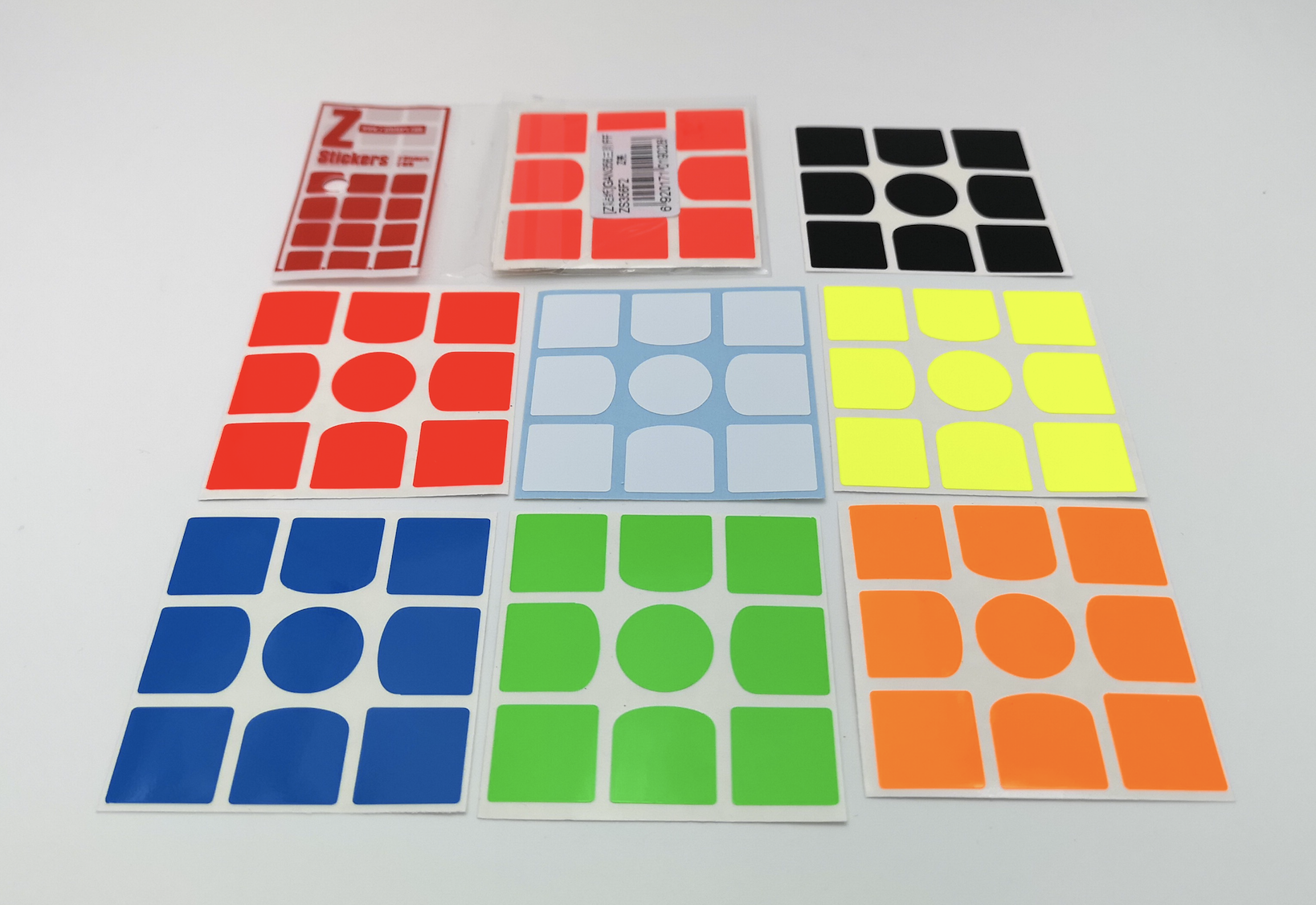 Z-Stickers for GAN 356 Z-Bright FF
