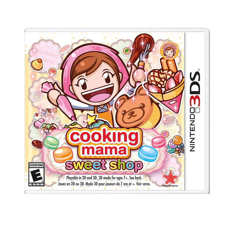 3DS™ (US) Cooking Mama: Sweet Shop Zone US / English ราคา 1190.-