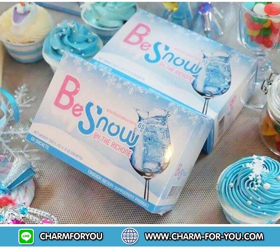 บีสโนว์ Be Snow by The Richone ยิ่งดื่มยิ่งขาว ราคา 3 กล่อง กล่องละ 210 บาท/6 กล่อง กล่องละ 200 บาท/12 กล่อง กล่องละ 190 บาท/ 24 กล่อง กล่องละ 180 บาท ขายเครื่องสำอาง อาหารเสริม ครีม ราคาถูก ของแท้100% ปลีก-ส่ง