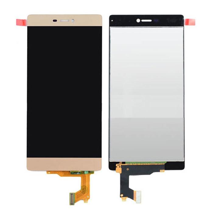 ราคาหน้าจอชุด+ทัชสกรีน Huawei P8 สีทอง แถมฟรีไขควง ชุดแกะเครื่อง อย่างดี