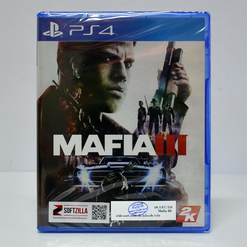 PS4™ Mafia III Zone 3 Asia / English