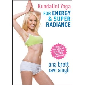 ดีวีดีออกกำลังกาย โยคะ - Energy and Syper Radiance With Ana Brett