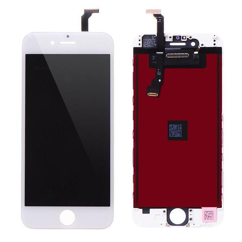 ราคาหน้าจองานแท้+ทัชสกรีน iPHONE 6 สีขาว อะไหล่เปลี่ยนหน้าจอแตก ซ่อมจอเสีย