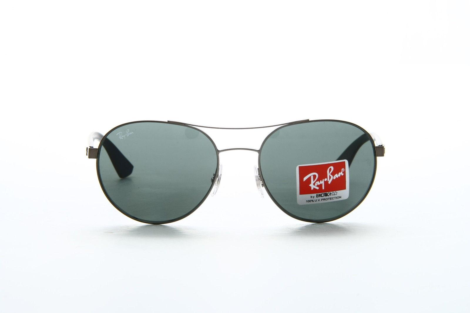 Ray Ban RB3536 029/71 Black Green 55mm