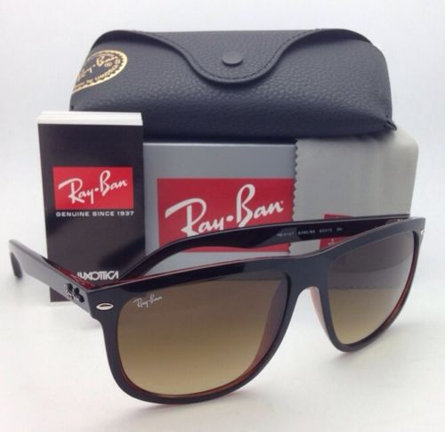 Ray Ban RB4147 6095/85 Black Brown Gradient Oversized 60mm