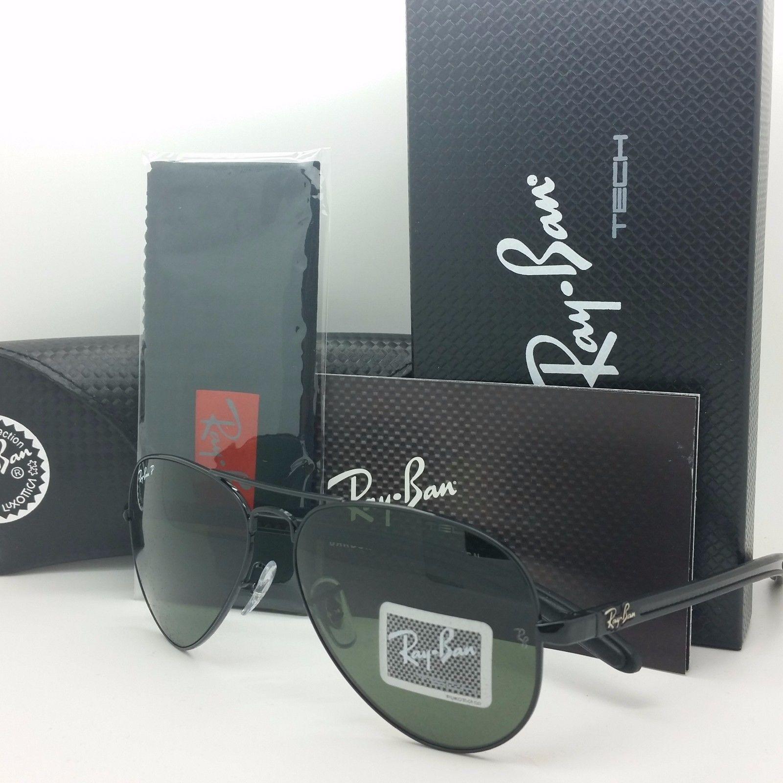 Ray-Ban Tech Carbon Black RB8307 002/N5 58mm