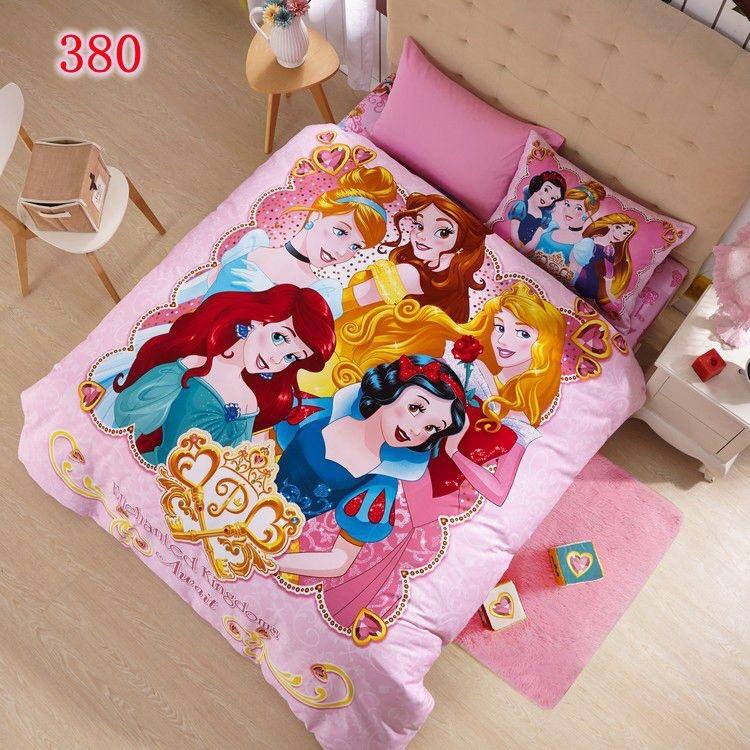 ผ้าปูที่นอน ลายเจ้าหญิงดิสนีย์ Disney Bedding