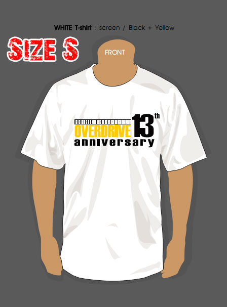 T-SHIRT : 13th YEAR (SIZE : S)