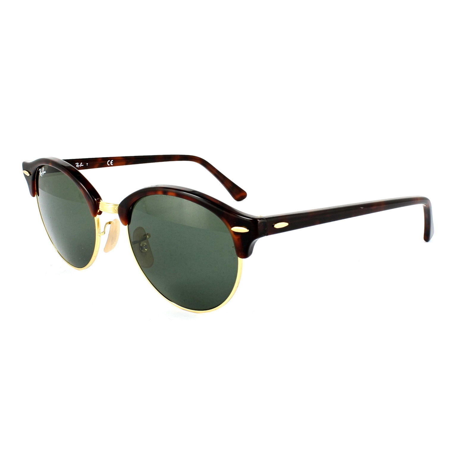 Ray Ban RB4246 990 Clubround Havana Gold 51mm