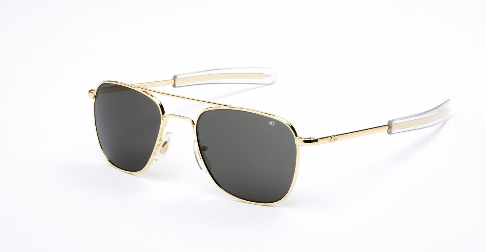 AO American Optical Original Pilot Gold - Made in USA