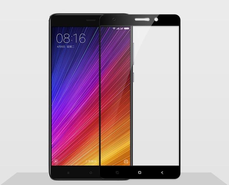 Xiaomi Mi5s Plus ฟิล์มกระจกนิรภัยเต็มจอ 9H+ บาง 0.33mm (ขอบดำ)