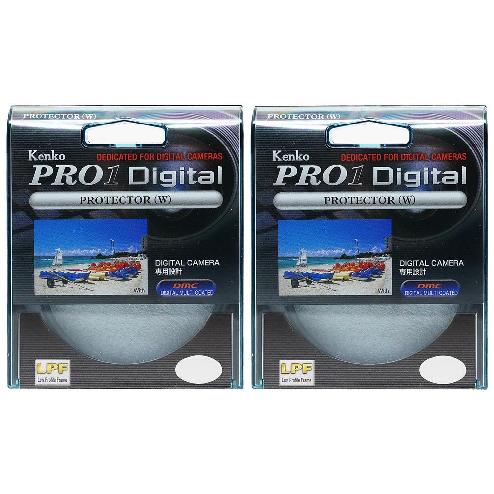 Kenko 52 mm Pro 1 D Digital Protector Filter 2 ชิ้น