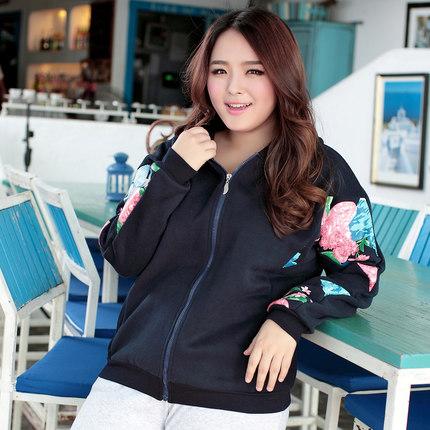 [พรีออเดอร์] เสื้อกันหนาวแฟชั่นเกาหลี ฮู๊ดแขนยาว ไซส์ใหญ่ สำหรับสาวอ้วนวัยทีน สุดชีค - [Preorder] Women Korean Hitz New Hood Long-Sleeved Large Size Sweater