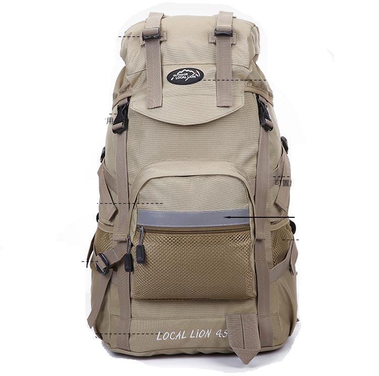 กระเป๋า backpack Outdoor Localion 45 ลิตร