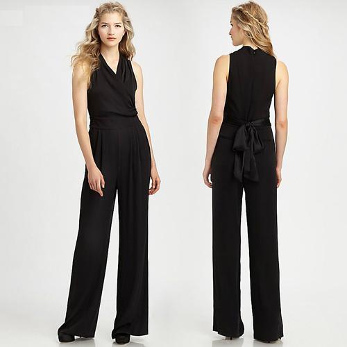 **พรีออเดอร์** ชุดเดรสผู้หญิงแฟชั่นยุโรปใหม่ แขนกุด คอวี แบบเก๋ เท่ห์ / **Preorder** New European Fashion Slim V-Neck Sleeveless Sexy Dress