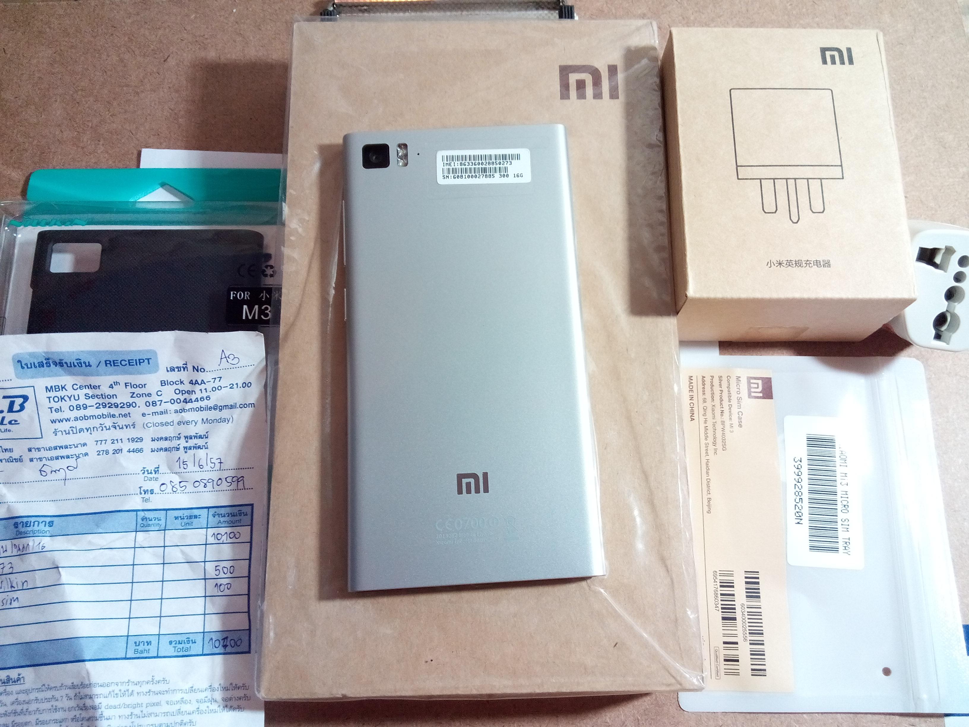 Xiaomi mi3 อายุ6 วัน