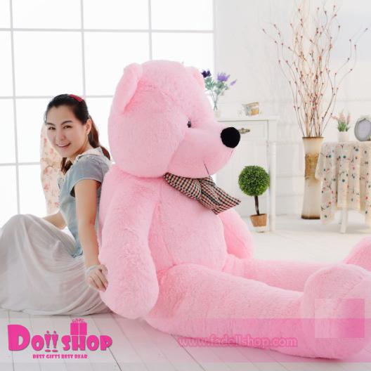 ตุ๊กตาหมียิ้ม Pink 2.0 เมตร