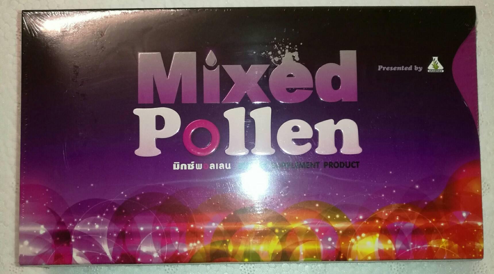 Mixed Pollen - มิกซ์ พอลเลน มีโกรทฮอร์โมนช่วยฟื้นความเป็นหนุ่มสาว