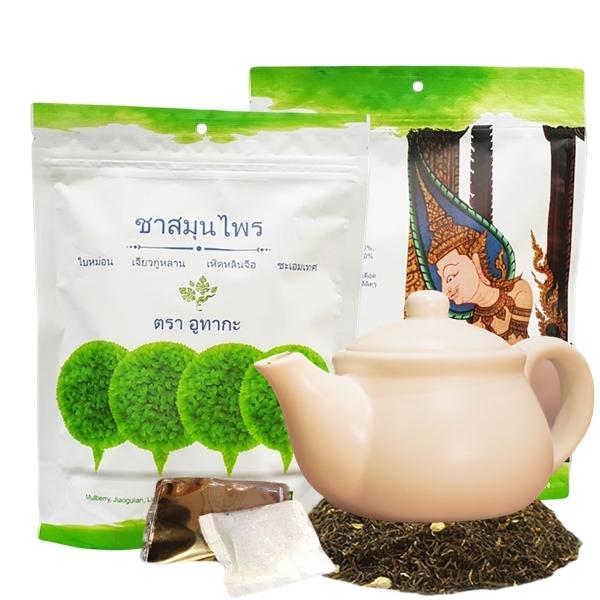ชาสมุนไพรลดเบาหวาน ตรา อูทากะ 2 ห่อ ( 20 ซอง )