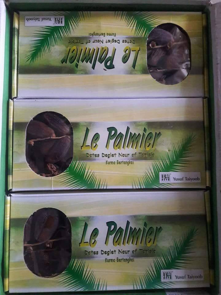 อินทผาลัม LE PALMIER น้ำหนัก 500 กรัม 4 กล่อง