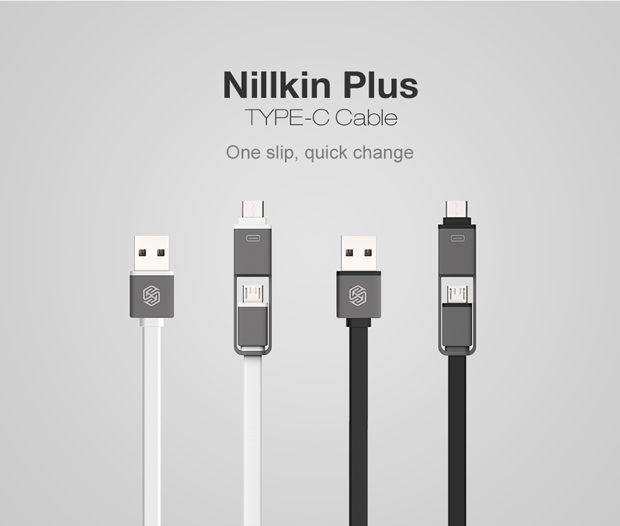Nillkin Plus Type-C Cable สายชาร์จ 2-in-1