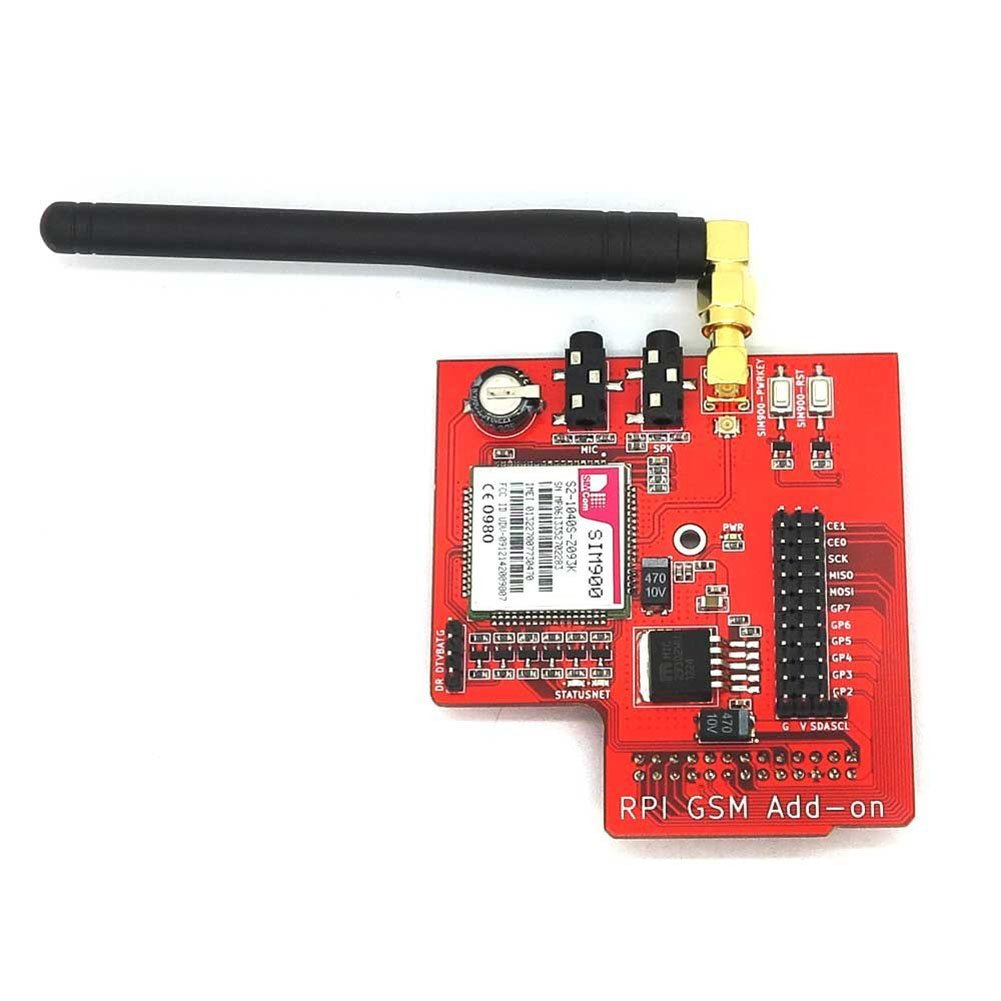 SIM900 RPI GSM GPRS Add-on for Raspberry PI2 B B+