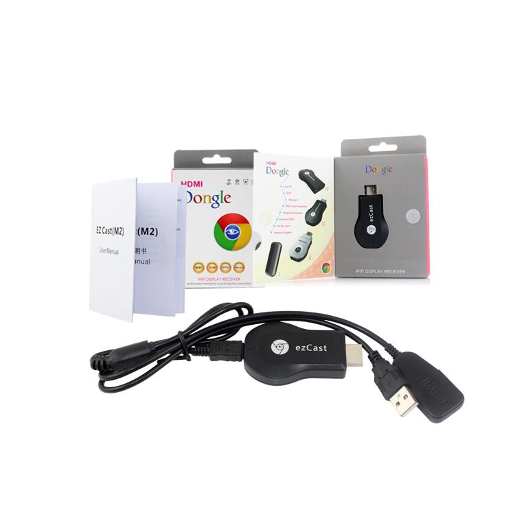 HDMI Display Wifi Dongle Receiver M2 - สำหรับเชื่อมต่อสัญญาณ ภาพและเสียง HDMI ระหว่าง LED TV กับอุปกรณ์ Tablet