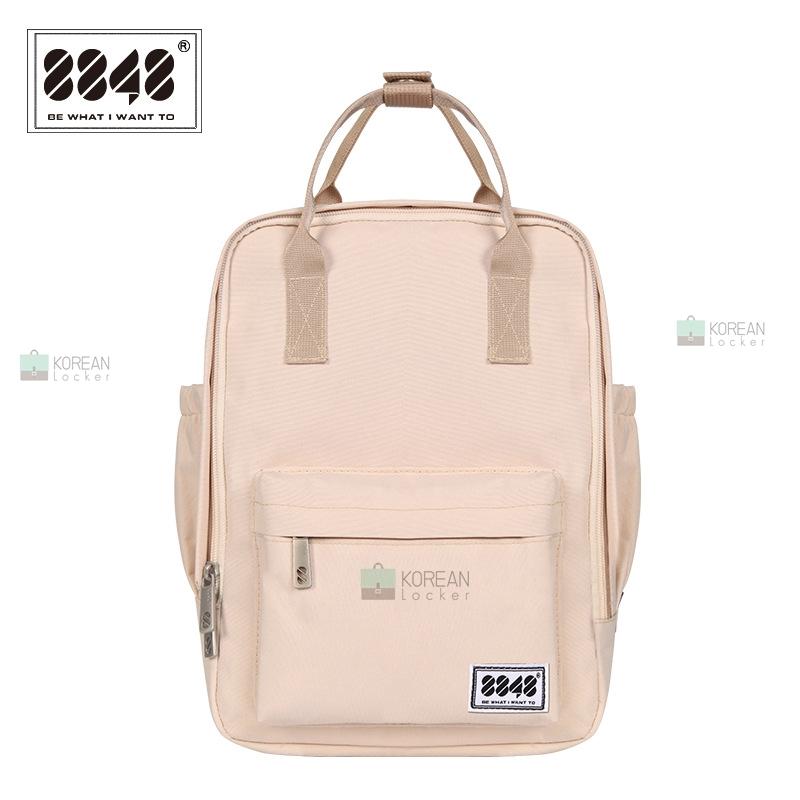 8848 Back pack(กระเป๋าเป้ สะพายหลัง) BA043 สี ครีม พร้อมส่ง