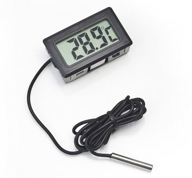Temperature Sensor LCD Display Meter Digital
