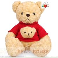 เท็ดดี้สวมเสื้อหมีน้อย