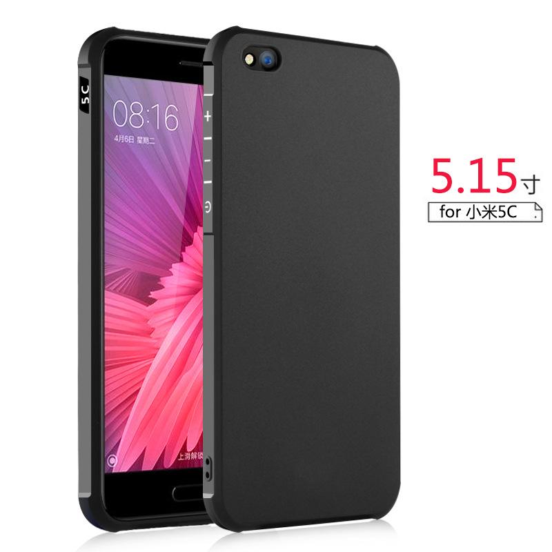 เคส Xiaomi Mi5c Simple TPU (Black)