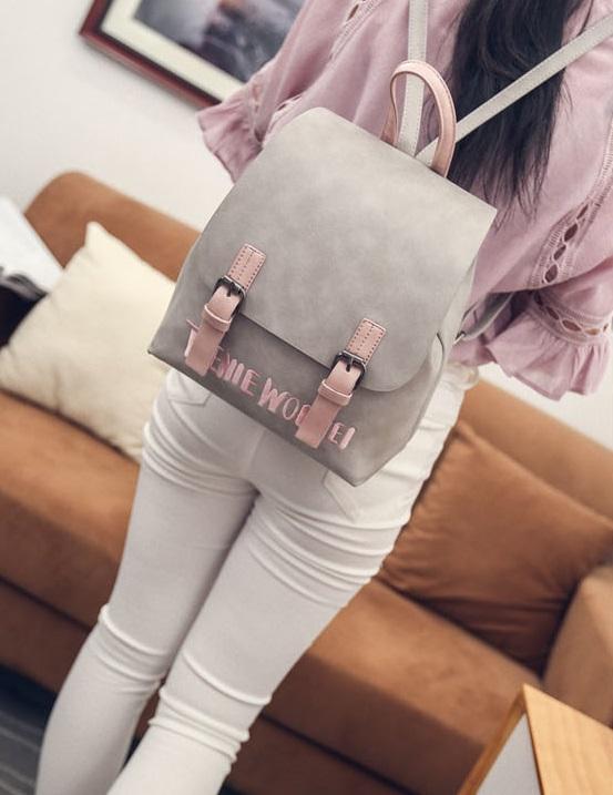 กระเป๋าเป้แฟชั่นผู้หญิง สีสรรสดใส มี 3 สี