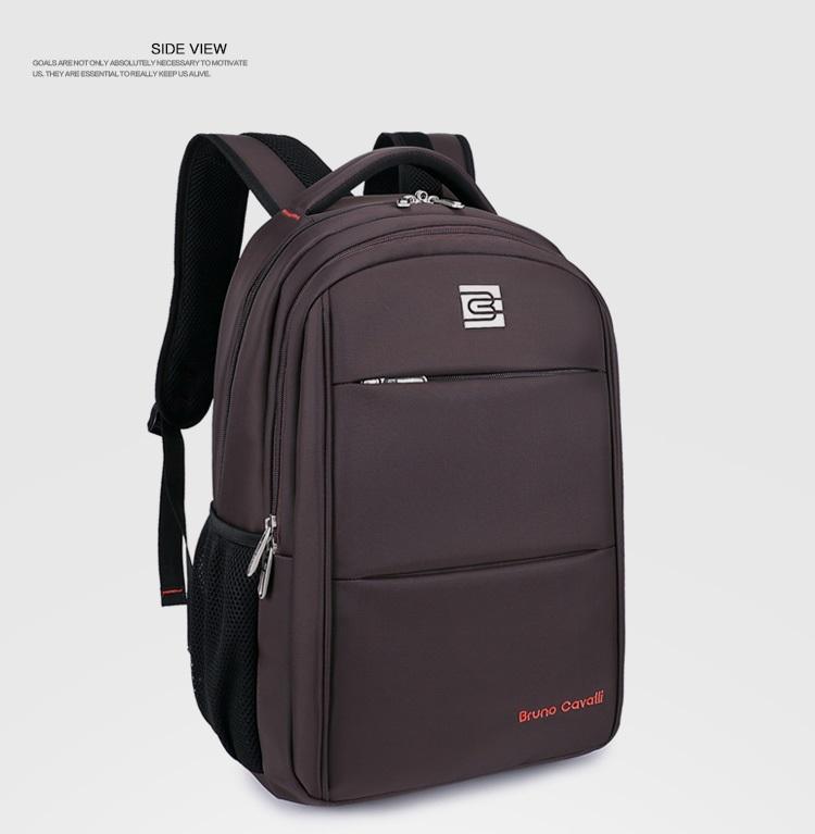 กระเป๋าสะพาย Bruno Cavalli (สีน้ำตาล) ใส่ Notebook