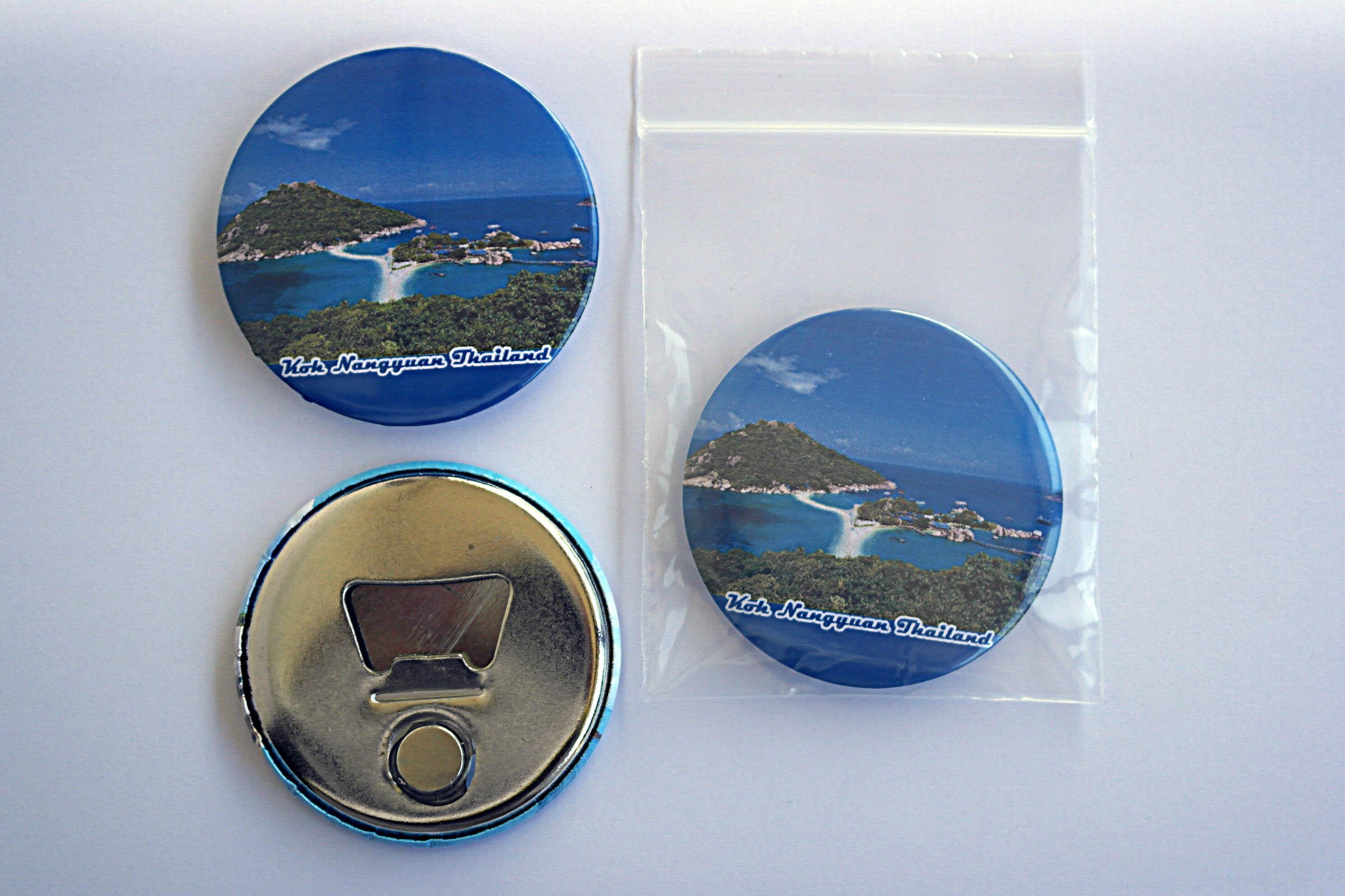 Koh Nangyuan 58 mm Fridge Magnet